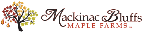 Mackinac Bluffs Maple Farms Logo
